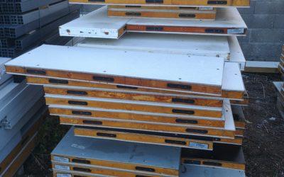 Vente de panneaux isothermes reclassés